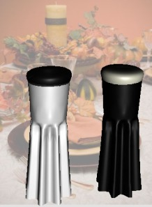 salt and pepper shaker 3d