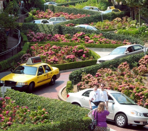Lombard Street, SF
